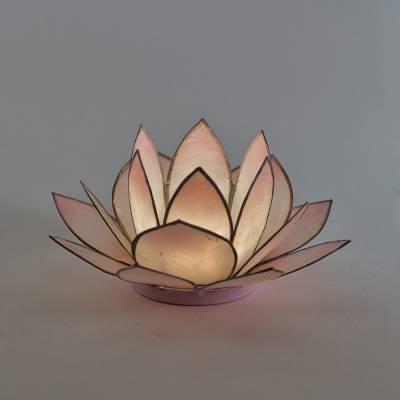 Lotosblüte Lotuslicht Nr. 2 rosé Herzensenergie - 1