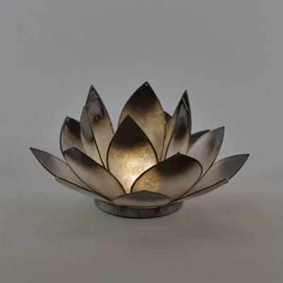 Lotosblüte Lotuslicht Nr. 17 schwarz Geheimnisvoll - 1