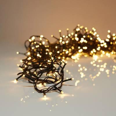 180 LED Lichterkette 13,5m warmweiss Innenbeleuchtung Aussenlicht Deko Weihnachten - 1