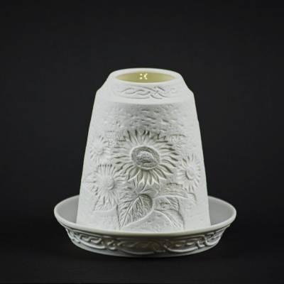 Starlight Glocke Nr.59 Sonnenblume Windlicht Teelichthalter - 1