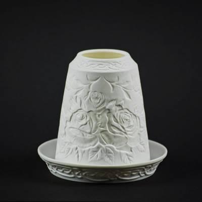 Starlight Glocke Nr.62 Rosen die 'Königin der Blumen' Windlicht Teelichthalter - 1