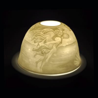 Starlight Nr.103 - Hellmann Teelicht Windlicht Dekoration Venus in der Muschel - 1