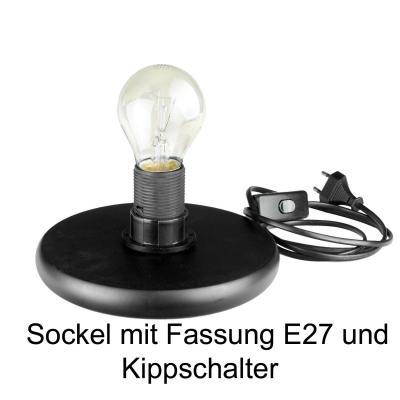 Leuchtglas Lampe Gigant Nr.12 Patchwork Ø30cm, inklusive elektr. Beleuchtung, Leuchte - 1
