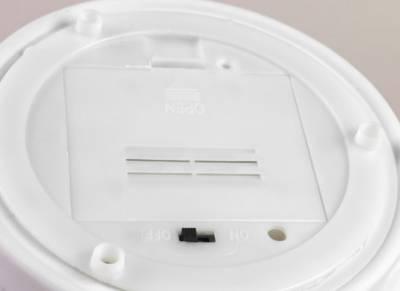 Dome Light LED-Base, Sockel batteriebetrieben Bisquitporzellan, weiss, Ersatzteller, Unterteller - 1