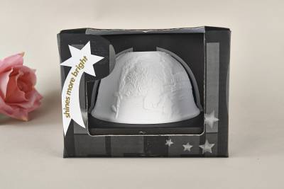 Kerzenfarm Hahn Dome Light Nr. 32008 Christmesse - Teelicht Windlicht Dekoration Porzellanteelicht