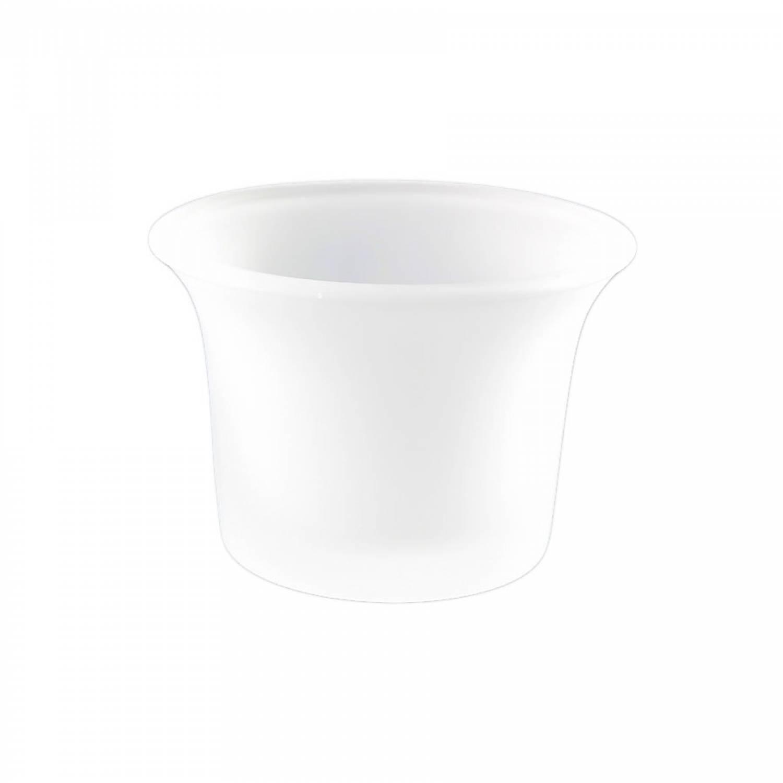Teelichthalter, Glas, gefrostet milchig, Teelichtglas, Windlichthalter, Kerzenständer, Teelichter - 2