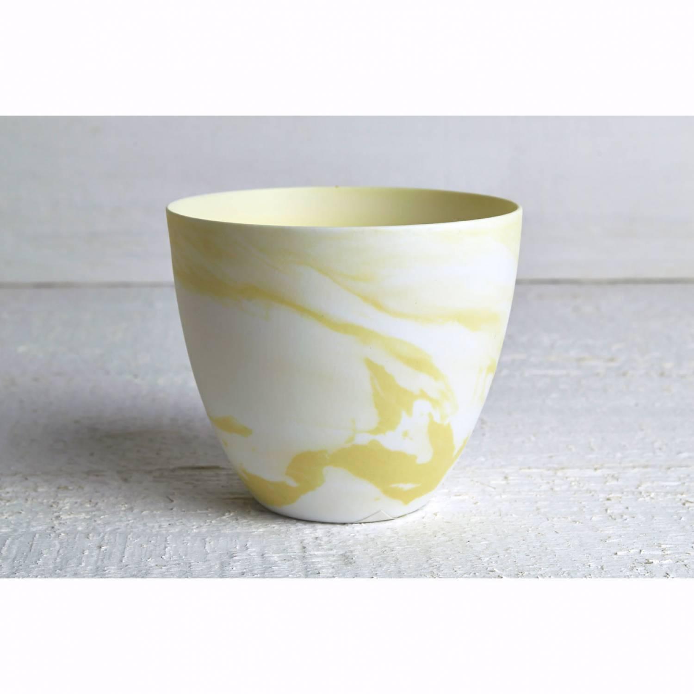 becher f r teelichter pastell gelb windlichthalter teelichthalter glas f r teelicht. Black Bedroom Furniture Sets. Home Design Ideas