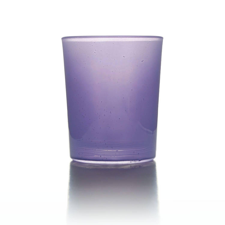 Teelichtglas Lavendel Teelichthalter Glas F R Teelichter