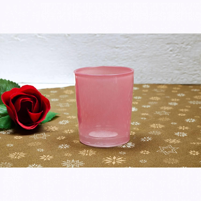 teelichtglas rot teelichthalter glas f r teelichter windlicht uni leuchtglas versand der. Black Bedroom Furniture Sets. Home Design Ideas