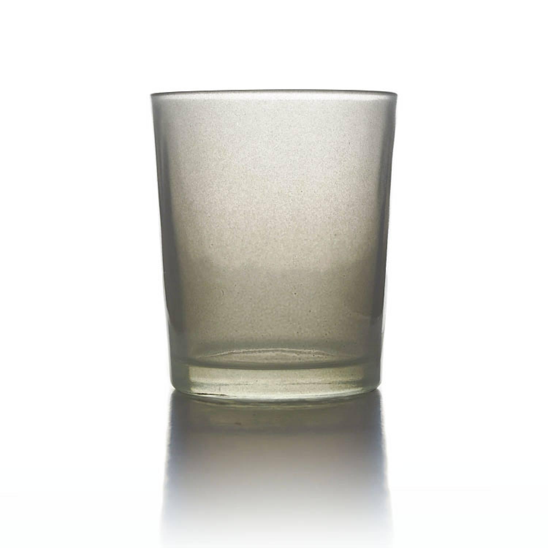 Teelichtglas Grau Teelichthalter Glas F R Teelichter