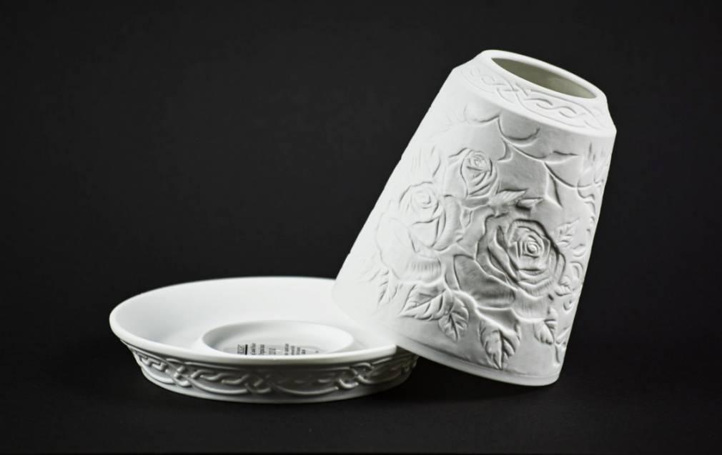 Starlight Glocke Nr.62 Rosen die 'Königin der Blumen' Windlicht Teelichthalter - 2