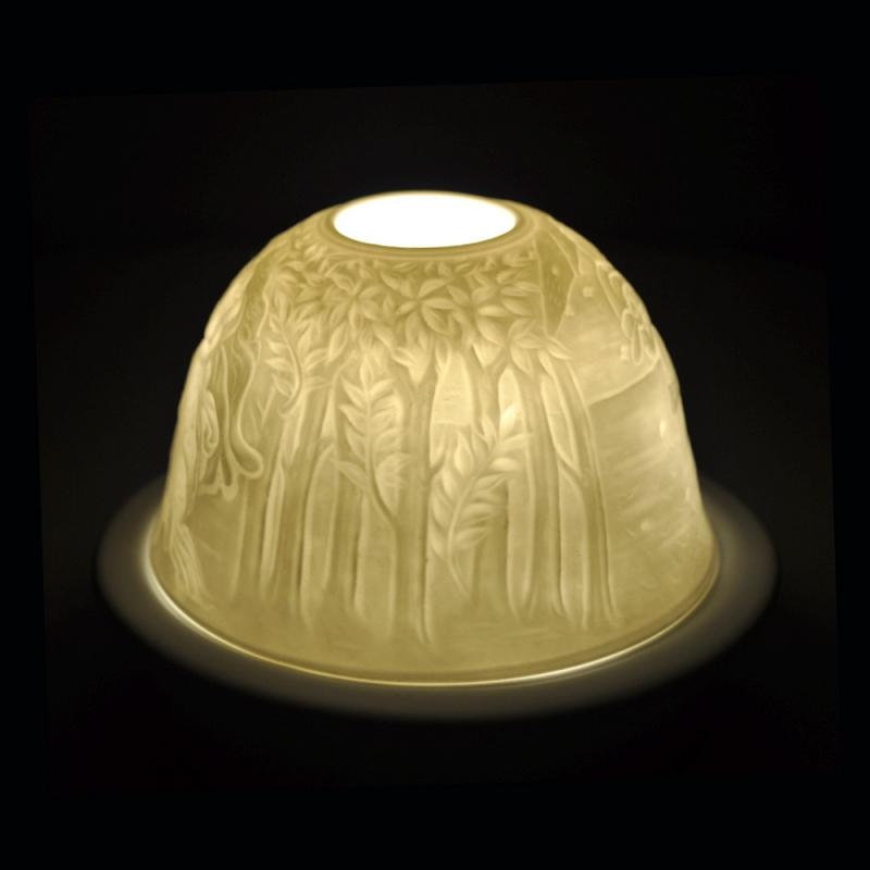 Starlight Nr.103 - Hellmann Teelicht Windlicht Dekoration Venus in der Muschel - 2