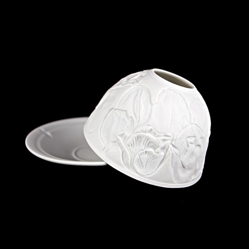 Starlight Nr.79 - Teelicht Windlicht Hellmann Dekoration Porzellanteelicht Tulpen - 2
