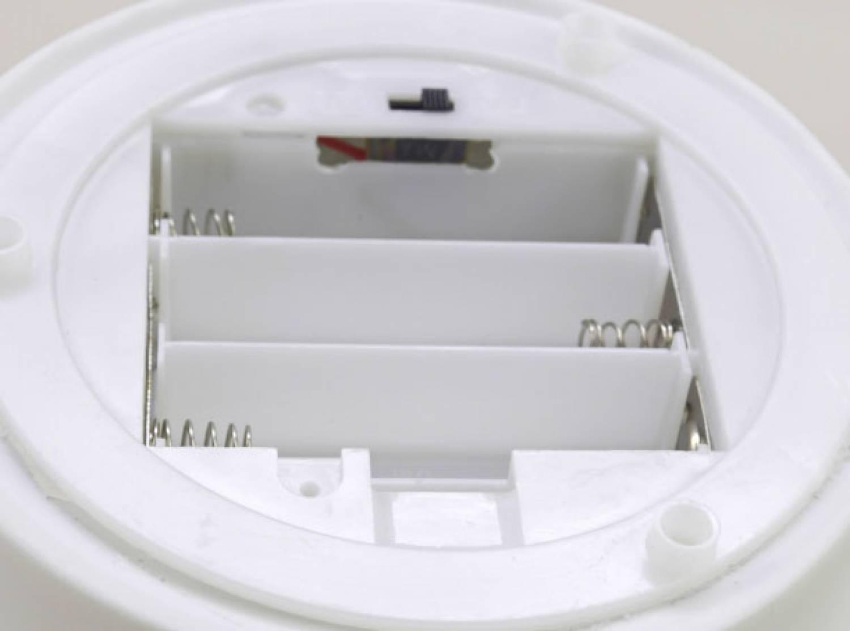 Dome Light LED-Base, Sockel batteriebetrieben Bisquitporzellan, weiss, Ersatzteller, Unterteller - 2