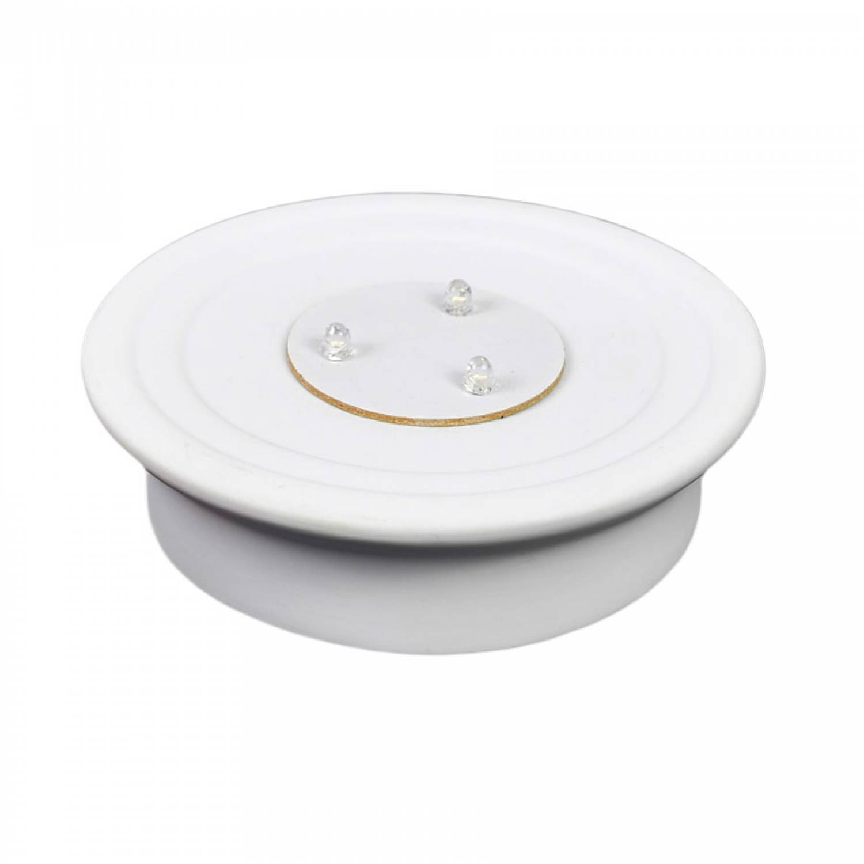 Dome Light LED-Base, Sockel batteriebetrieben Bisquitporzellan, weiss, Ersatzteller, Unterteller - 3