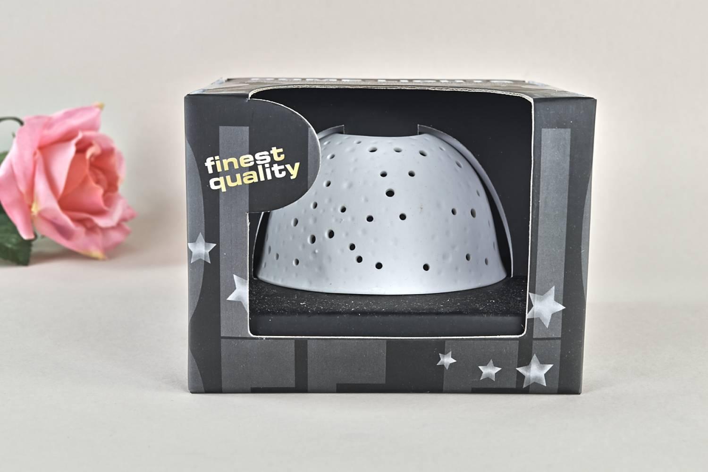 Kerzenfarm Dome Light Nr. 30009 Sternenhimmel - Teelicht Windlicht Dekoration Porzellanteelicht - 2