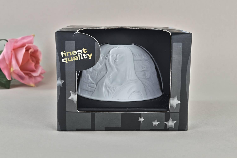Kerzenfarm Hahn Dome-Light Nr. 30011 Mona Lisa - Teelicht Windlicht Dekoration Porzellanteelicht - 3