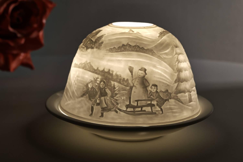 Kerzenfarm dome light nr 30035 winterzauber teelicht - Dekoration winterzauber ...